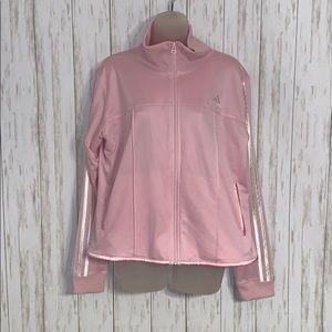 Size XL Adidas Light Pink Track Jacket